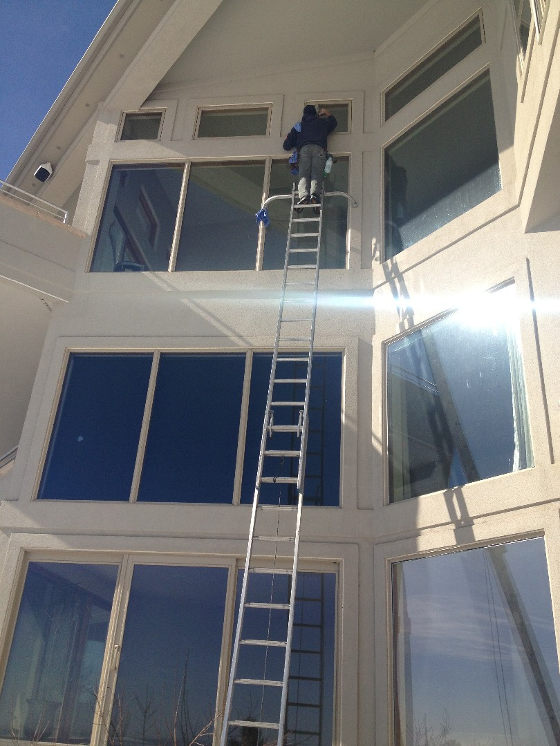 High Exterior Window Cleaning